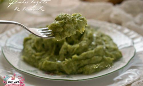 Purè light di broccoli