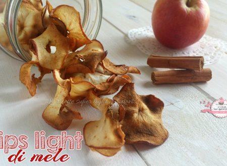 Chips light di mele