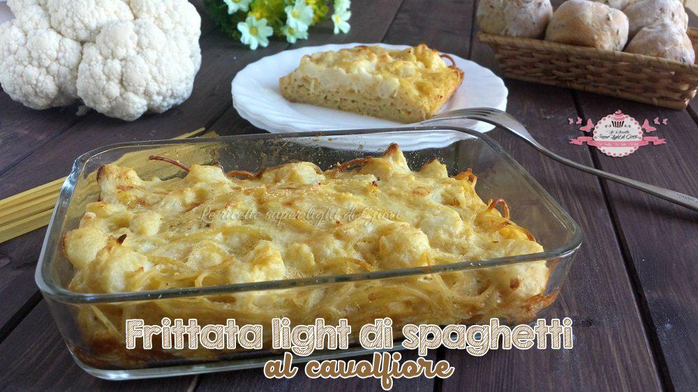Pasta e cavolfiore ricetta light