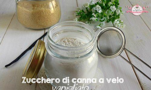 Zucchero di canna a velo vanigliato