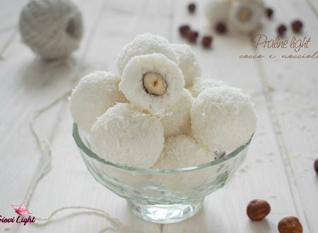 Praline light cocco e nocciole