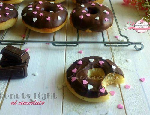 Donuts light al cioccolato
