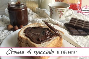 Crema di nocciole light