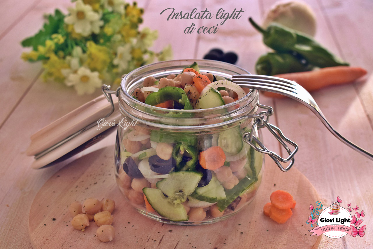 Insalata light di ceci