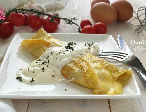 Omelette light al formaggio
