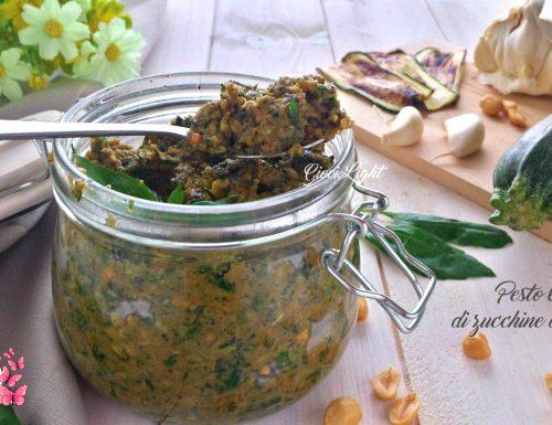 Pesto light di zucchine al basilico