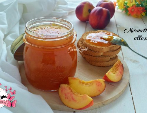 Marmellata light alle pesche