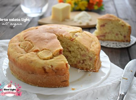 Torta salata light all'acqua