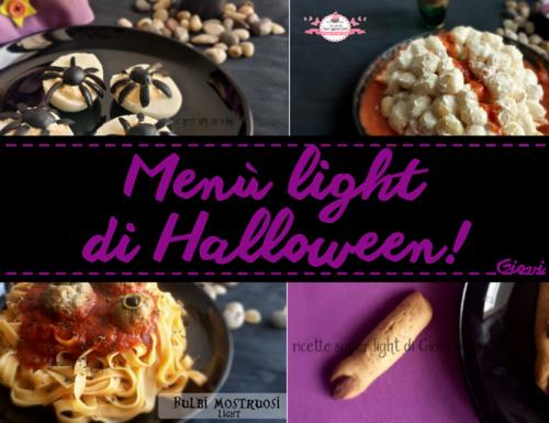 Menù di Halloween Light! 4 Ricette da urlo!