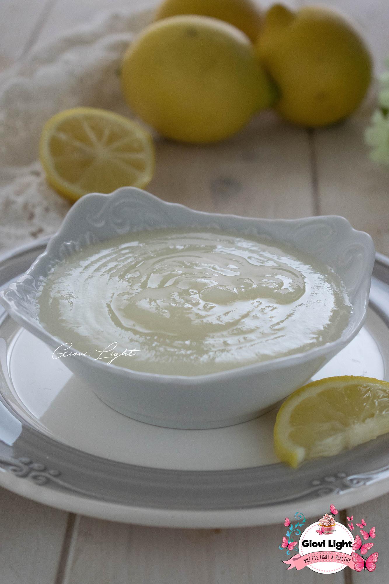 Glassa al limone light