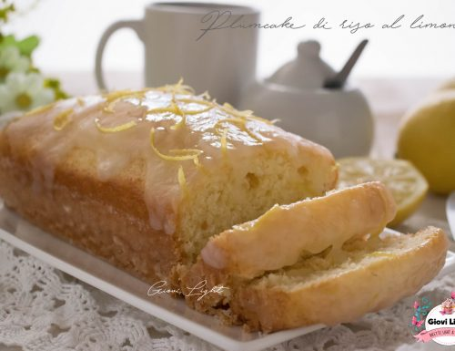 Plumcake di riso al limone