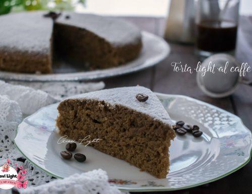 Torta light al caffè, facile e veloce