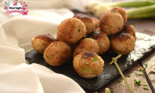 Polpette light di cannellini e riso