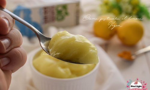 Crema pasticcera al limone Vegan