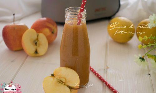 Succo di mela fatto in casa