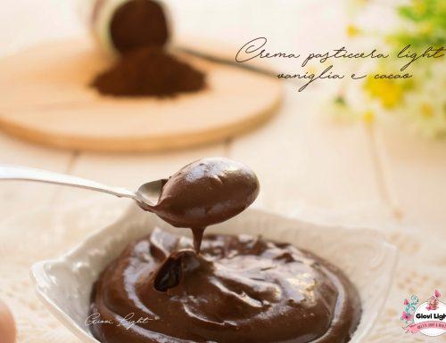 Crema pasticcera light vaniglia e cacao