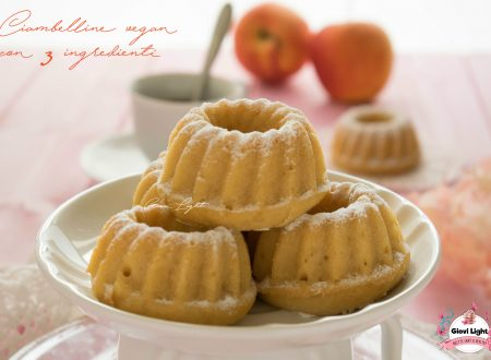 Ciambelline vegan light con 3 ingredienti