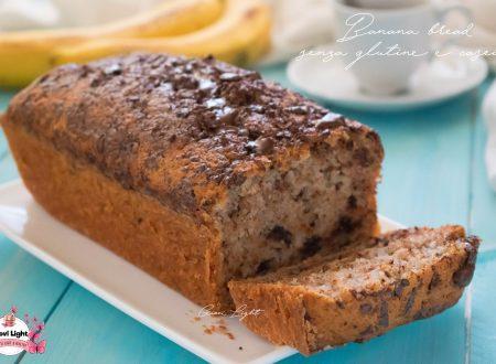 Banana bread al cioccolato senza glutine e caseina