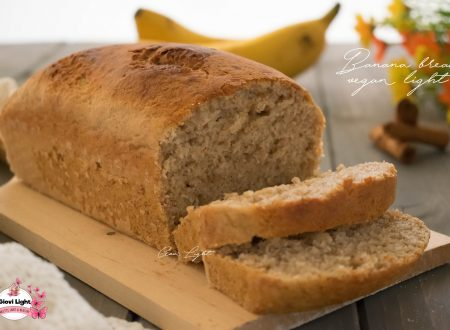 Banana bread vegan light