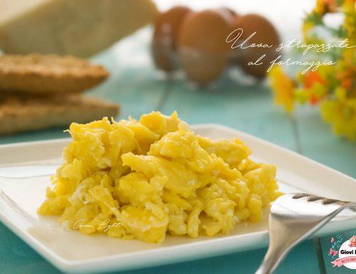 Uova strapazzate al formaggio