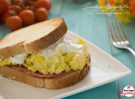 Sandwich saporito e velocissimo