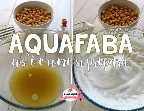 AQUAFABA O ALBUMI VEGAN… cos'è e come si prepara + alcune ricette!