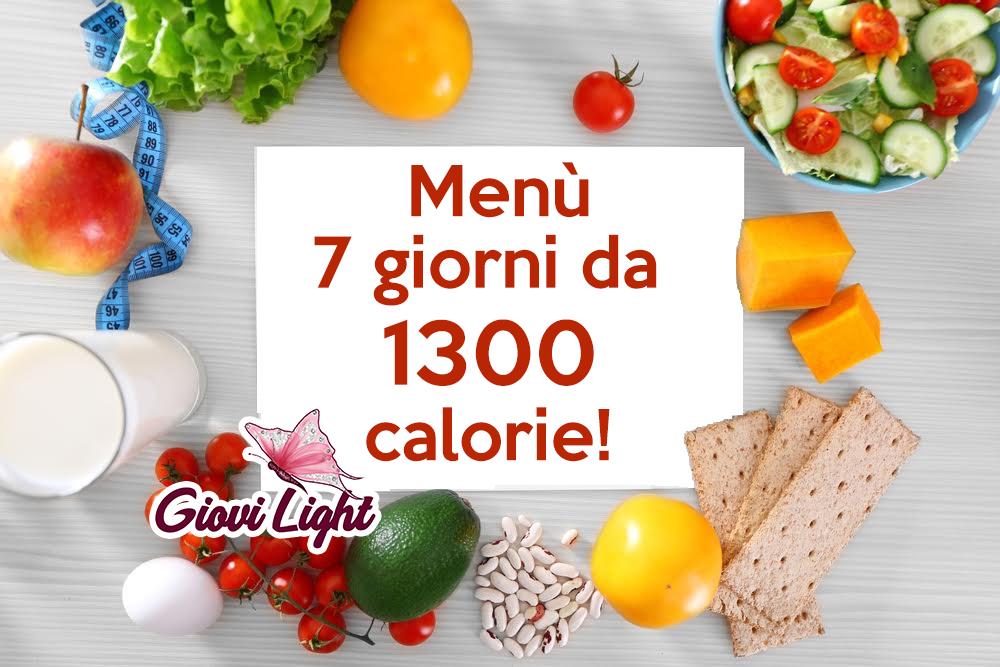 schema settimanale di dieta dimagrante