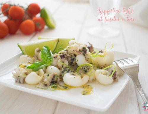 Seppioline light al basilico e lime
