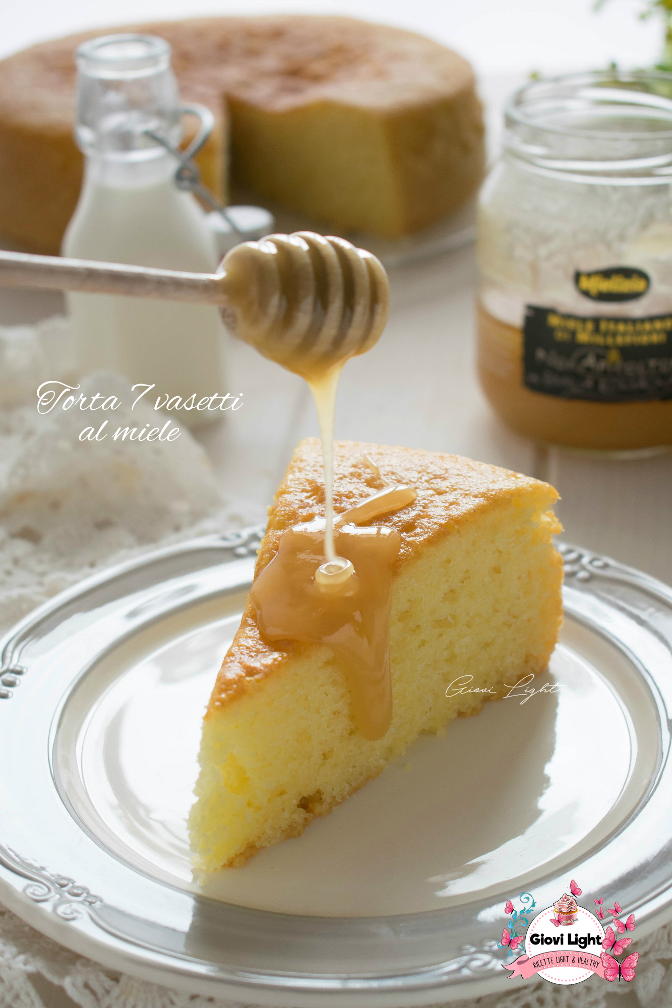Torta 7 vasetti al miele