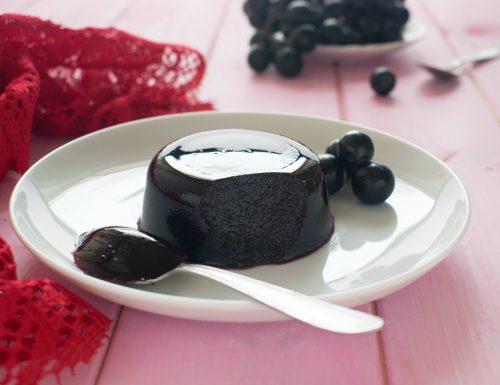 Gelo light d'uva fragola, senza zucchero, grassi e a basso IG!