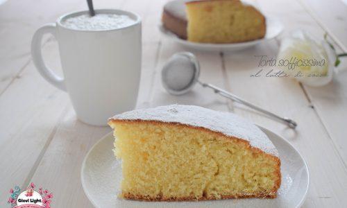 Torta sofficissima al latte di cocco