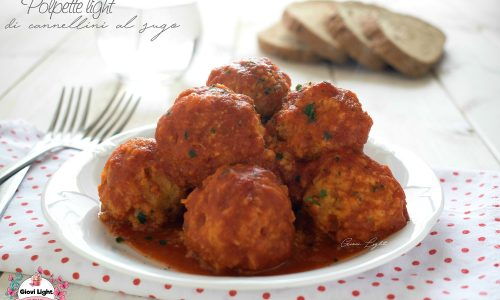 Polpette light di cannellini al sugo