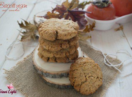 Biscotti vegan ai cachi