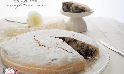 Torta marmorizzata senza glutine e caseina