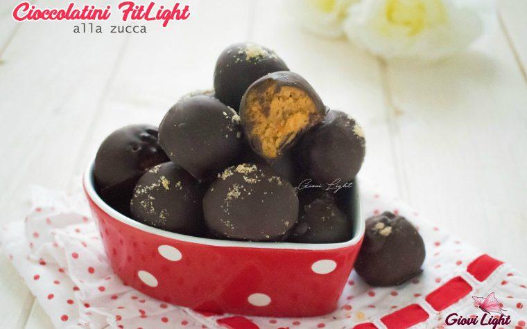 Cioccolatini FitLight alla zucca