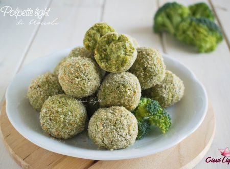 Polpette light di broccoli