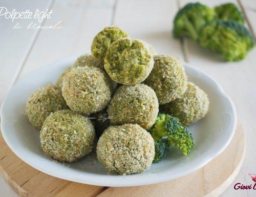 Polpette LIGHT di broccoli NELLA FRIGGITRICE AD ARIA