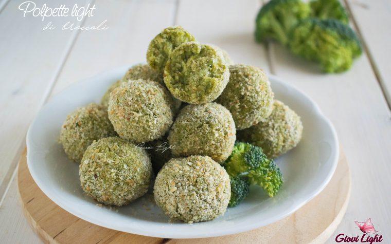 Polpette light di broccoli