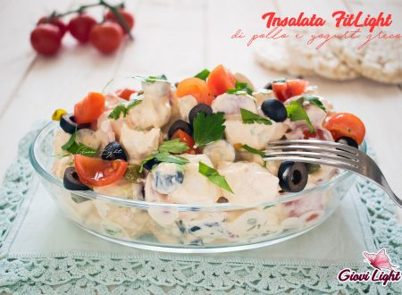 Insalata FitLight di pollo e yogurt greco