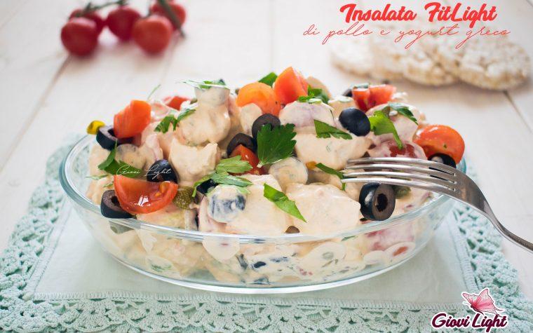 Insalata FitLight di pollo e yogurt greco