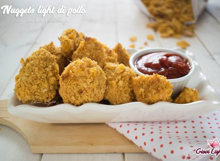 Nuggets light di pollo ai cornflakes