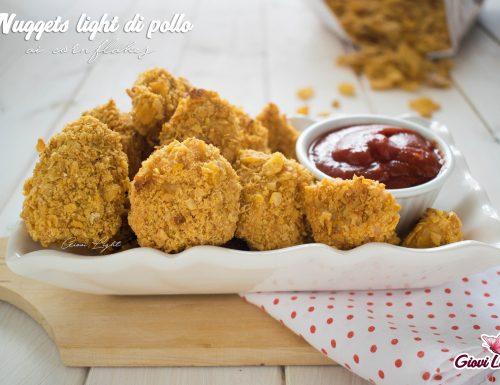 Nuggets LIGHT di pollo ai cornflakes NELLA FRIGGITRICE AD ARIA