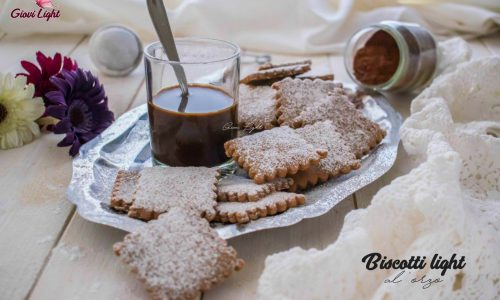 Biscotti light all'orzo