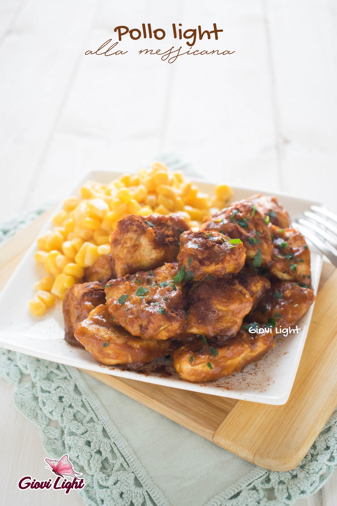 Pollo light alla messicana - ricetta cremosa e semplificata
