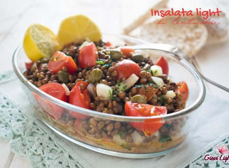 Insalata light di lenticchie