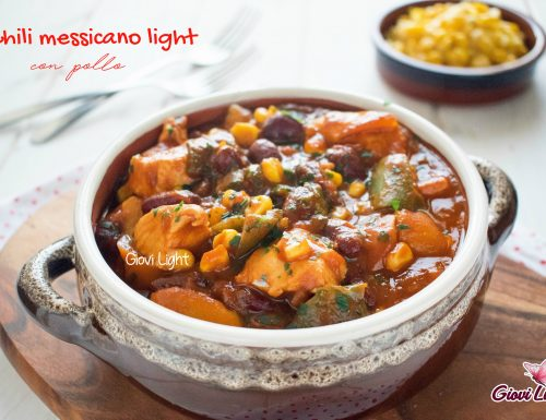 Chili messicano light con pollo
