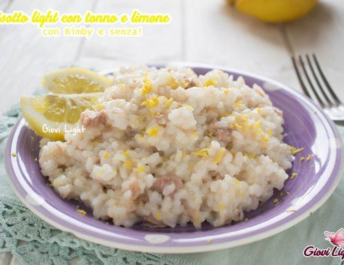 Risotto light con tonno e limone –  con il Bimby e senza!