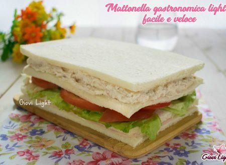 Mattonella gastronomica light facile e veloce