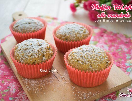 Muffin FitLight alle mandorle con Bimby e senza!