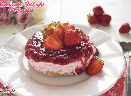 Cheesecake FitLight alle fragole